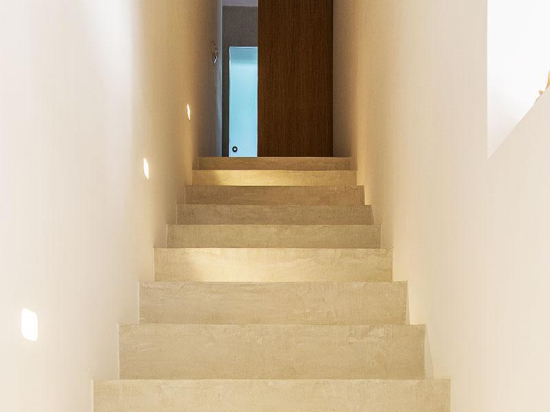 モールテックス施工事例|室内・階段と壁