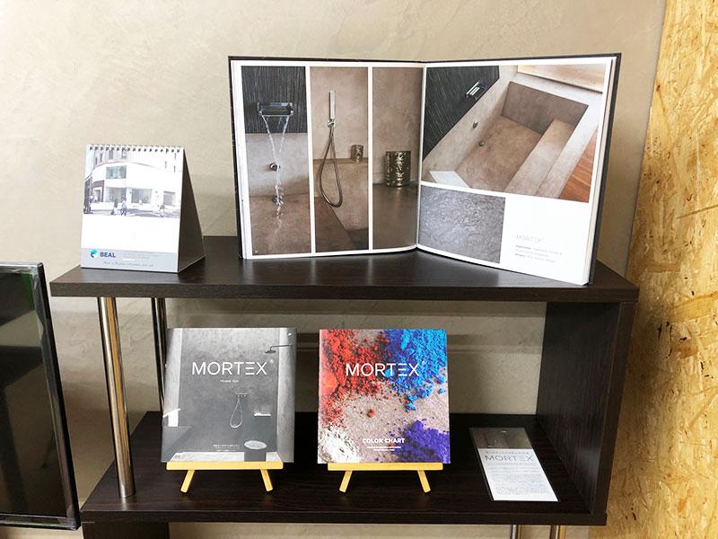 モールテックスの東京ショールーム2|株式会社オフィスTAKAHATA